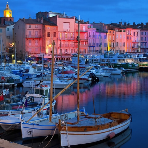 The dream of Saint Tropez