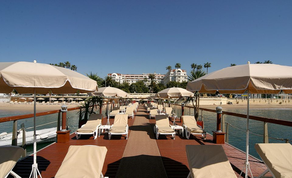 plage majestic cannes